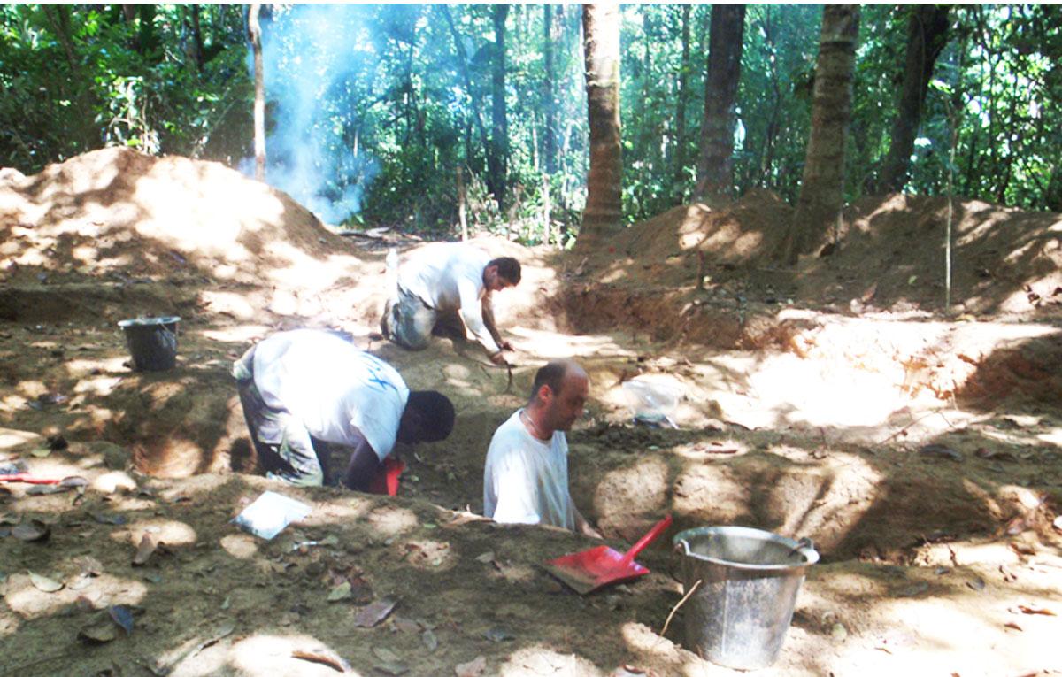 amazonie-fouilles