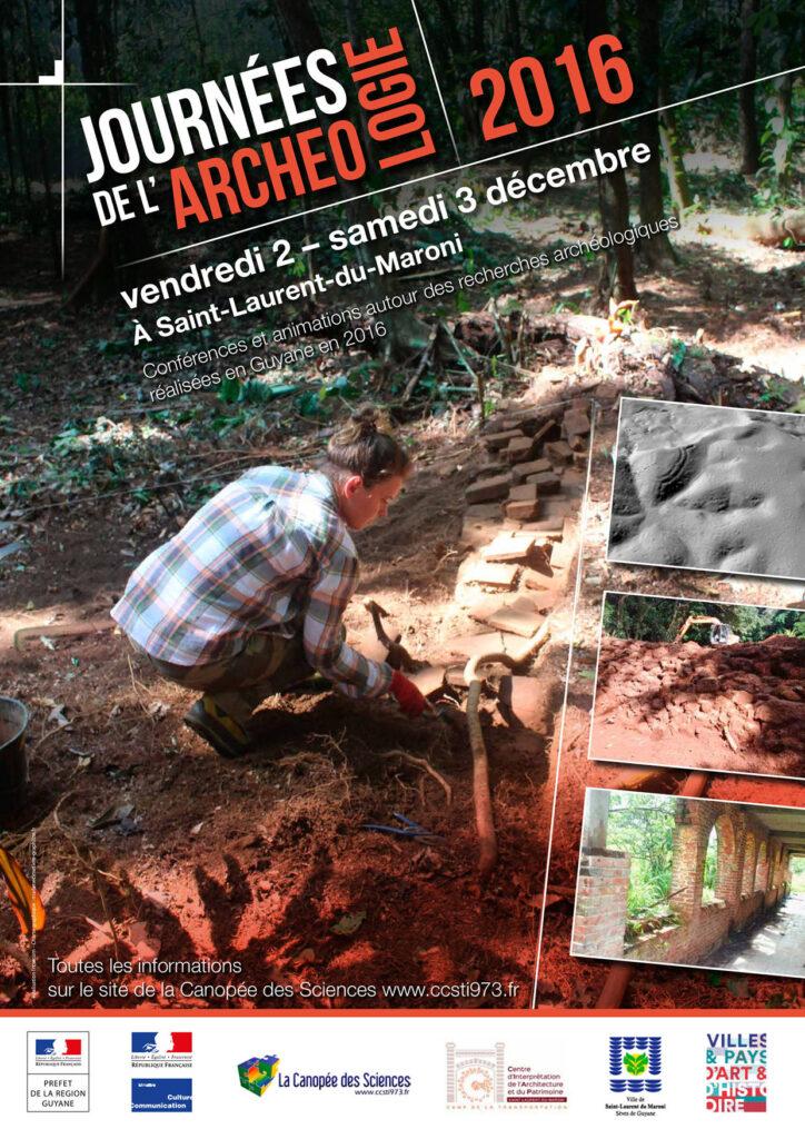 Les journées de l'archéologie de Guyane