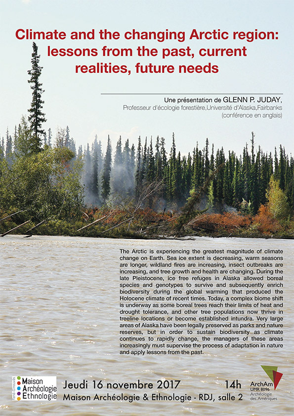 Climate and the changing Arctic region: lessons from the past, current realities, future needs