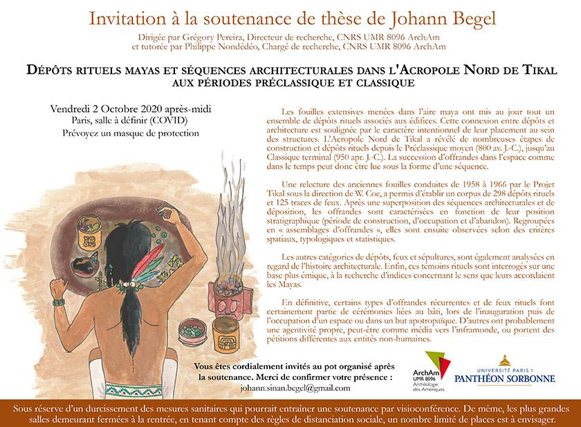 Soutenance de thèse de Johann Begel