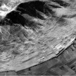 """Vue aérienne d'Armatambo en 1943. Le site est aujourd'hui recouvert en partie par la ville de Lima © Servicio Aerfotográfico Nacional. SAN (Pérou)"""""""