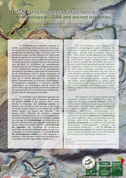 LiDAR archéologiques et territoires anciens