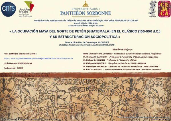 Soutenance de thèse de Carlos Morales Aguilar