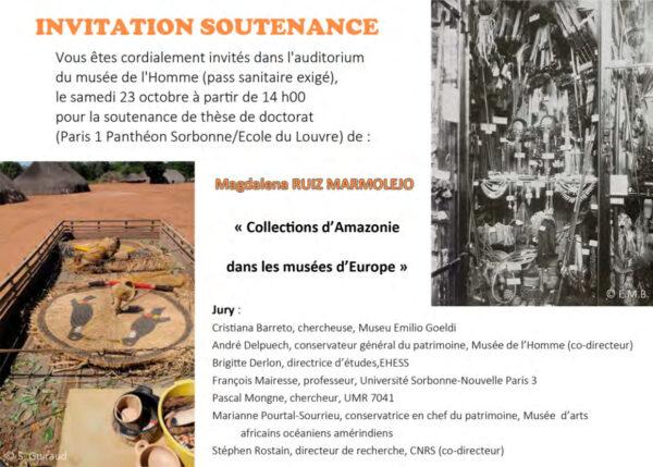 Soutenance de thèse de Magdalena Ruiz Marmolejo